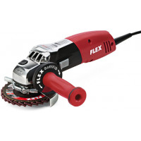 Угловая шлифовальная машина Flex LE 14-7 125 INOX Set INOXFLEX для обработки нержавеющих и легированных стали