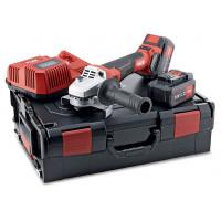 Аккумуляторная угловая шлифовальная машина Flex с разной скоростью вращения и тормозом 18,0 В, 125 мм