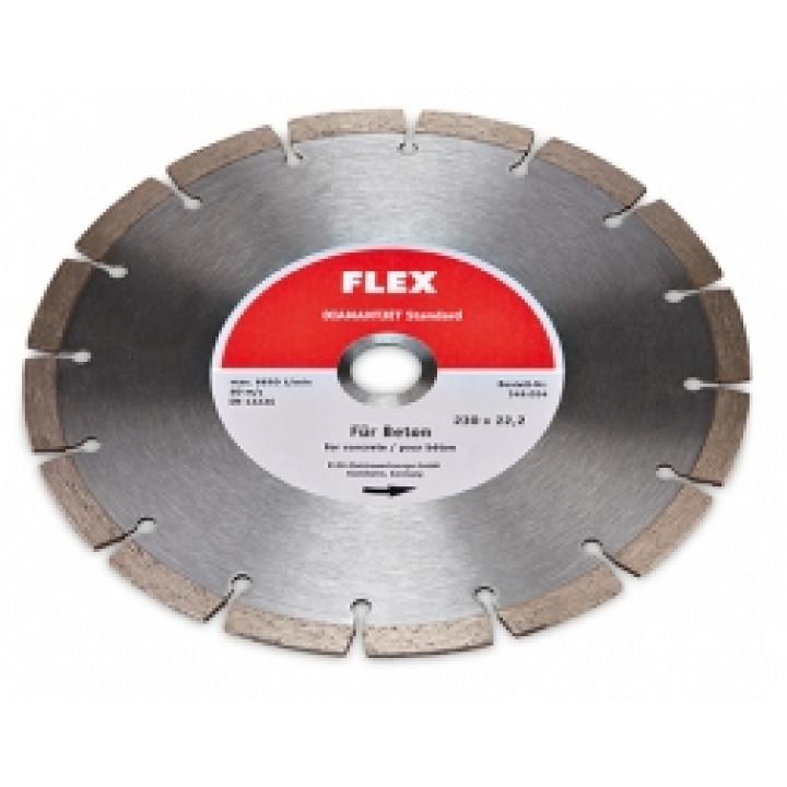 Алмазный режущий диск Flex Diamantjet по бетону Standard Beton Ø230