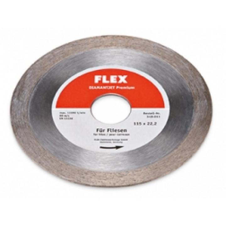 Алмазный режущий диск Flex Diamantjet по плитке Premium Fliese Ø115