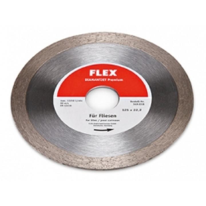 Алмазный режущий диск Flex Diamantjet по плитке Premium Fliese Ø125
