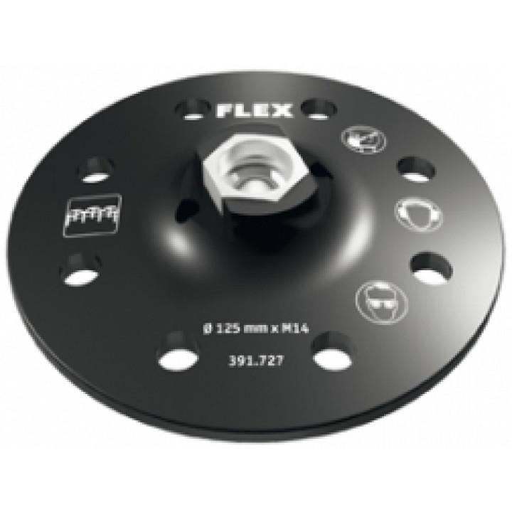 """Тарелка шлифовальная круг Flex с креплением на """"липучке"""" SP D125-8 H/F"""