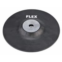Эластичный тарельчатый шлифовальный круг Flex с зажимной гайкой M 14