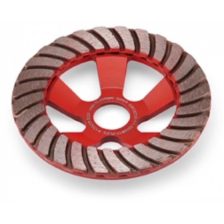 Алмазный шлифовальный круг Flex тарельчатой формы Turbo-Jet D125 28x23,5