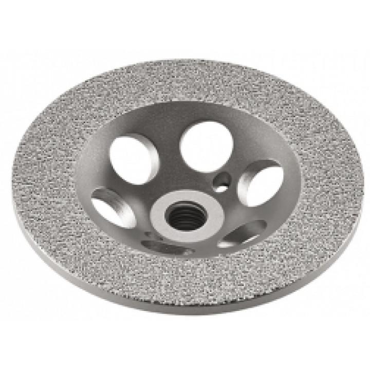Алмазный шлифовальный круг тарельчатой формы Flex Surface-Jet D115 C M14