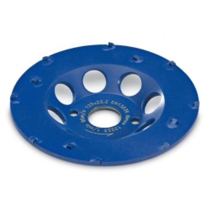 Поликристаллический алмазный шлифовальный круг Flex тарельчатой формы PKD-Jet D125 22,2