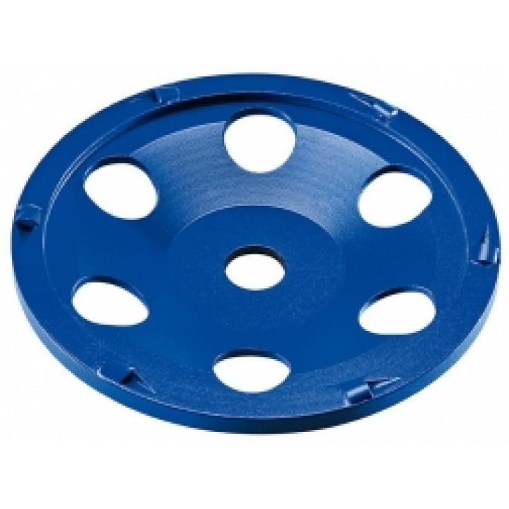 Поликристаллический алмазный шлифовальный круг тарельчатой формы Flex PKD-Jet 6-Cut D150 22,2