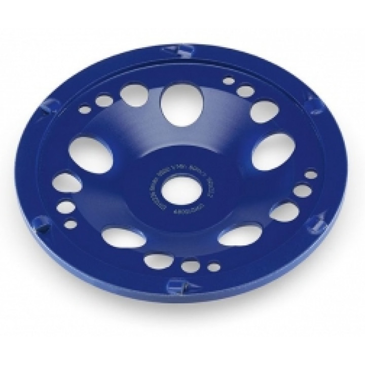 Поликристаллический алмазный шлифовальный круг тарельчатой формы Flex PKD-Jet 6-Cut D180 22,2