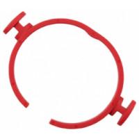 Быстродействующий пружинный зажим Flex красный SH-FC 32