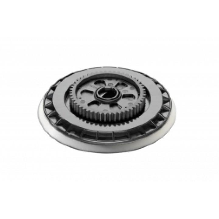 """Тарельчатый круг Flex с креплением шлифовальных средств на """"липучке"""" с зубчатым колесом"""