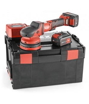 Аккумуляторная эксцентриковая полировальная машина с приводом принудительного действия Flex XCE 8 125 18.0-EC/5.0 Set