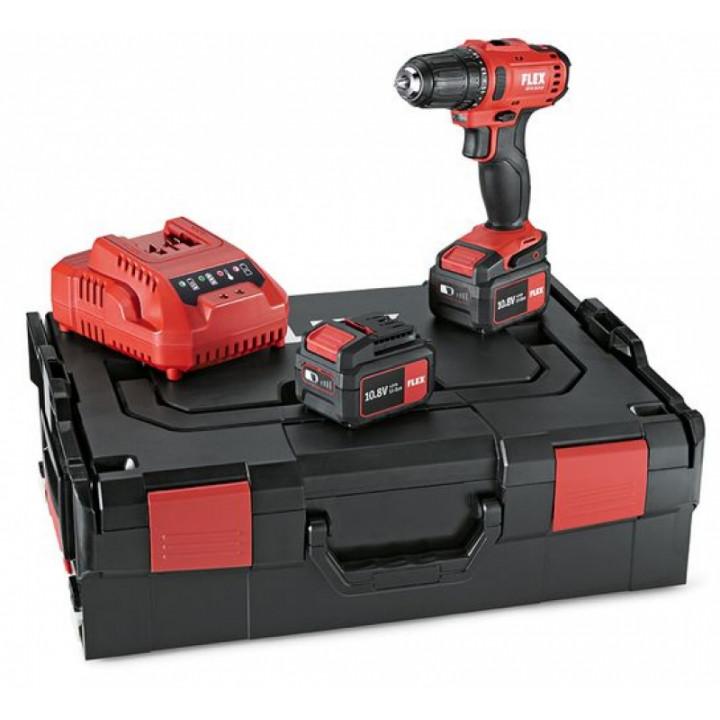 """Двухскоростной аккумуляторный шуруповерт Flex 10,8 В """"Light Duty"""" DD 2G 10.8-LD"""