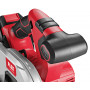 Аккумуляторная ручная дисковая пила с защитным маятниковым кожухом Flex CS 62 18.0-EC/5.0 Set