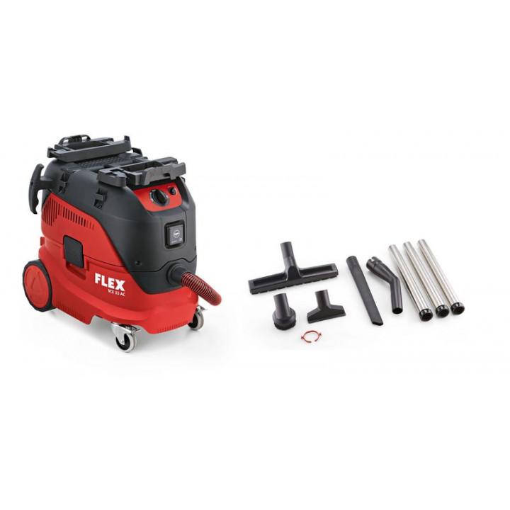 Безопасный пылесос с автоматической очисткой фильтра, 30 л, класс L Flex VCE 33 L AC-Set