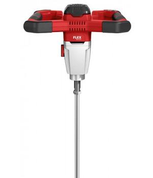 Аккумуляторный двухступенчатый перемешиватель с трехпозиционным переключателем скоростей вращения на 18,0 В Flex MXE 18.0-EC