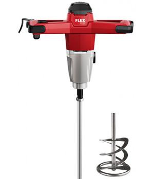 Двухскоростной миксер - перемешиватель Flex 1200 Вт с трехступенчатой регулировкой скорости вращения MXE 1202 + WR2 140