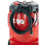 Безопасный пылесос Flex с ручной очисткой фильтра, 25 л, класс L