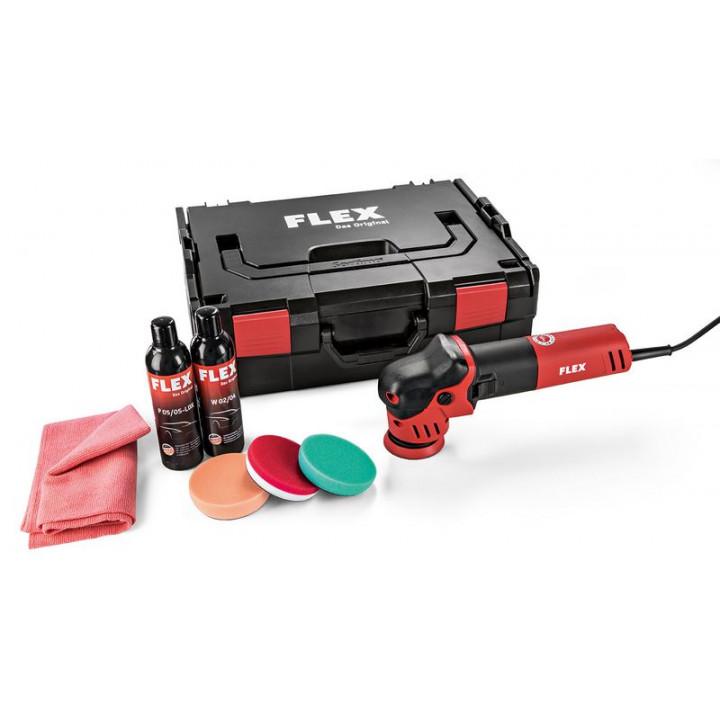 Эксцентриковая полировальная машинаFlex XFE 7-12 80 P-Set для небольших площадей