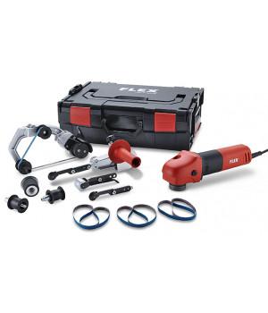 Ленточная шлифовальнаяFlex BRE 8-4 INOX Set машина для труб и ленточный напильник
