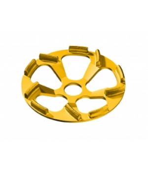 Алмазный шлифовальный круг Flex тарельчатой формы Beton-Whirljet