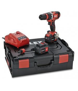 Двухскоростной аккумуляторный шуруповерт Flex DD 2G 10.8-EC/4.0 Set