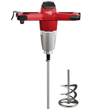 Односкоростной миксер - перемешиватель Flex 1200 Вт с 3-ступенчатым переключателем частоты вращения MXE 1200 + WR2 140