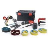 Сатинировальная машина и ленточная машина для шлифования труб Flex TRINOX комплект BSE 14-3 INOX Set 230/CEE