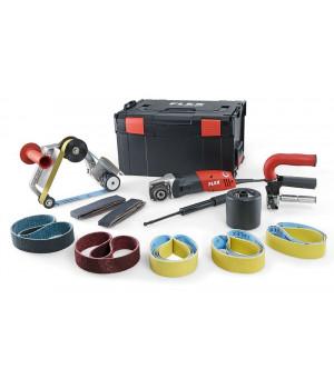 Сатинировальная машина и ленточная машина для шлифования труб Flex TRINOX комплект BSE 14-3 INOX Set